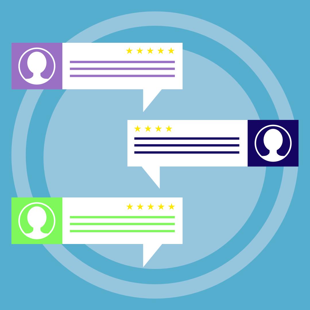 Customer Testimonials Graphic